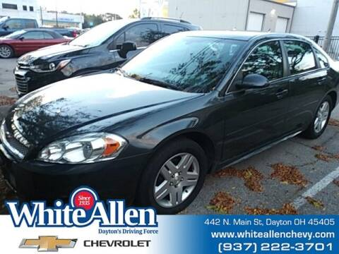 2014 Chevrolet Impala Limited for sale at WHITE-ALLEN CHEVROLET in Dayton OH