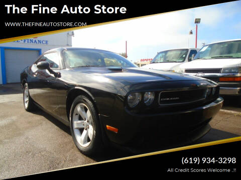 2012 Dodge Challenger for sale at The Fine Auto Store in Imperial Beach CA