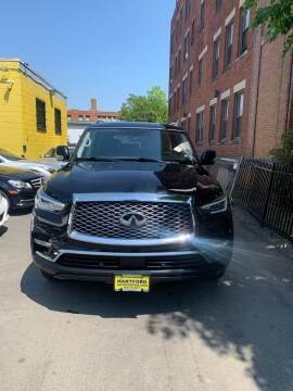 2018 Infiniti QX80 for sale at Hartford Auto Center in Hartford CT