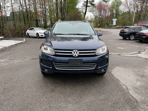 2014 Volkswagen Touareg for sale at USA Auto Sales in Leominster MA