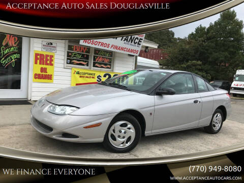 2001 Saturn S-Series for sale at Acceptance Auto Sales Douglasville in Douglasville GA