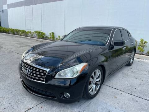 2012 Infiniti M37 for sale at Auto Beast in Fort Lauderdale FL