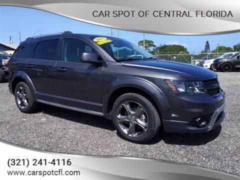 2017 Dodge Journey for sale at Car Spot Of Central Florida in Melbourne FL
