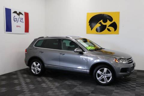 2012 Volkswagen Touareg for sale at Carousel Auto Group in Iowa City IA