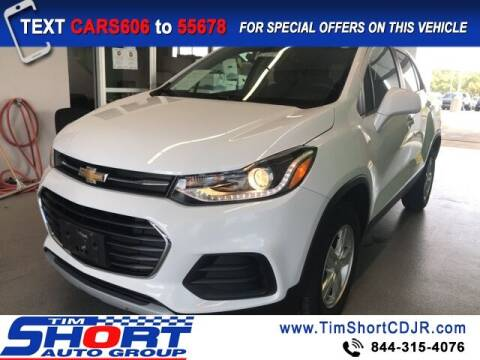2017 Chevrolet Trax for sale at Tim Short Chrysler in Morehead KY