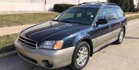 2001 Subaru Outback for sale at Petite Auto Sales in Kenosha WI