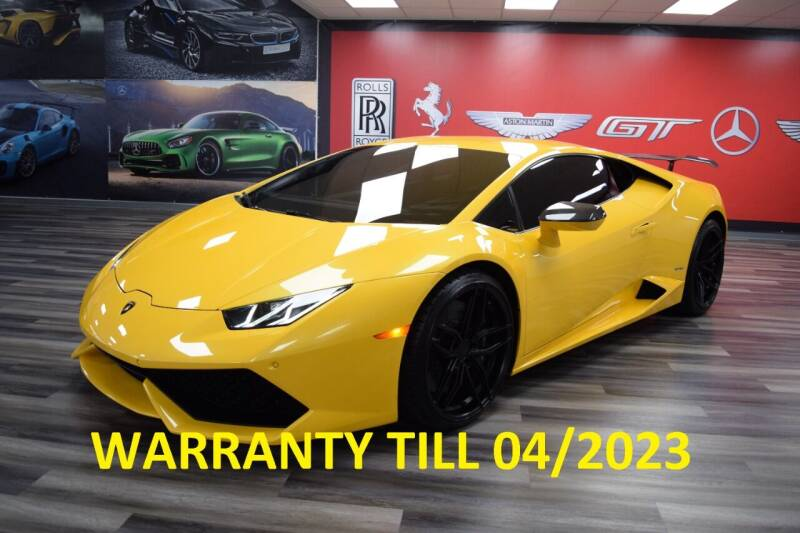 2016 Lamborghini Huracan for sale at Icon Exotics in Houston TX