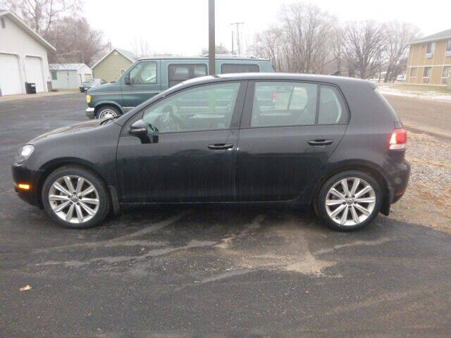 2013 Volkswagen Golf for sale at JIM WOESTE AUTO SALES & SVC in Long Prairie MN