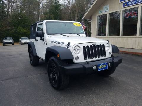 2015 Jeep Wrangler for sale at Fairway Auto Sales in Rochester NH
