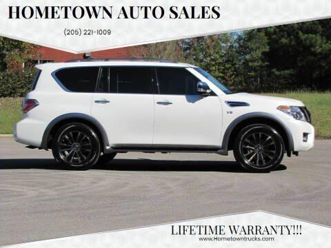 2017 Nissan Armada for sale at Hometown Auto Sales - SUVS in Jasper AL