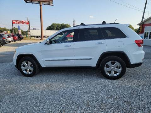 2013 Jeep Grand Cherokee for sale at 220 Auto Sales in Rocky Mount VA