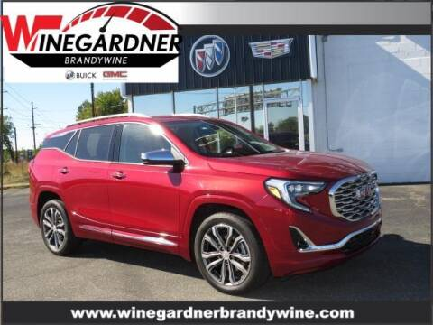 2019 GMC Terrain for sale at Winegardner Auto Sales in Prince Frederick MD