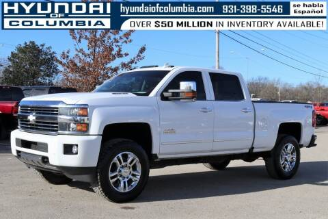 2016 Chevrolet Silverado 2500HD for sale at Hyundai of Columbia Con Alvaro in Columbia TN
