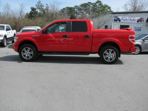 2014 Ford F-150 for sale at Pure 1 Auto in New Bern NC