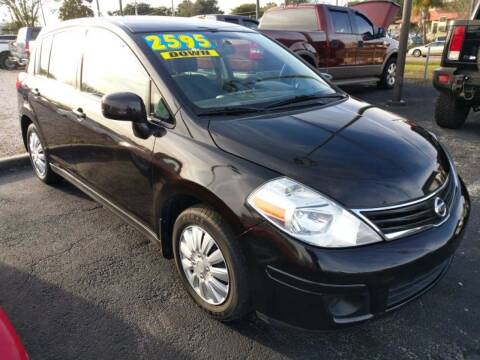 2011 Nissan Versa for sale at Tony's Auto Sales in Jacksonville FL