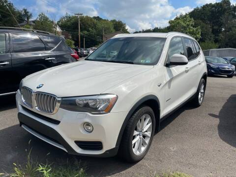 2016 BMW X3 for sale at Fellini Auto Sales & Service LLC in Pittsburgh PA