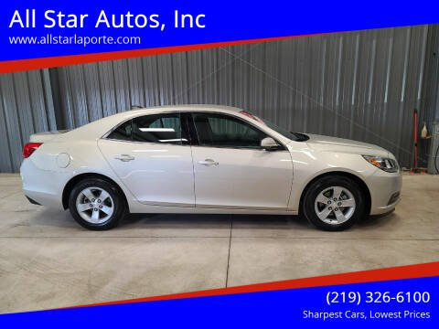 2013 Chevrolet Malibu for sale at All Star Autos, Inc in La Porte IN