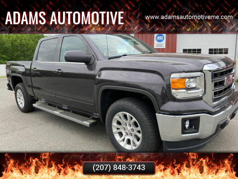 2015 GMC Sierra 1500 for sale at Adams Automotive in Hermon ME
