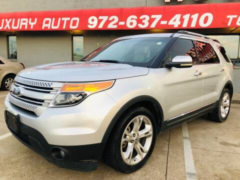 2011 Ford Explorer for sale at Texas Luxury Auto in Cedar Hill TX