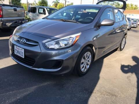 2016 Hyundai Accent for sale at MIKE AHWAZI in Santa Ana CA