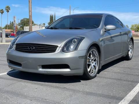 2005 Infiniti G35 for sale at California Auto Deals in Sacramento CA
