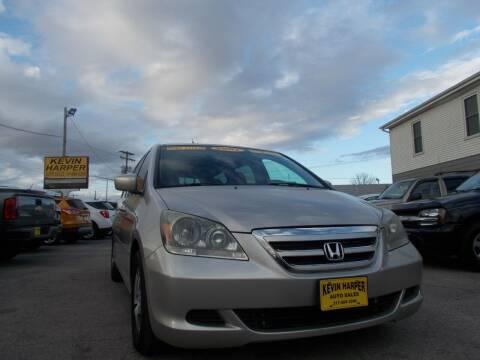 2007 Honda Odyssey for sale at Kevin Harper Auto Sales in Mount Zion IL