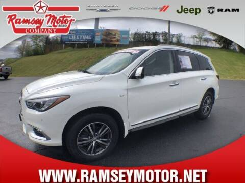 2017 Infiniti QX60 for sale at RAMSEY MOTOR CO in Harrison AR