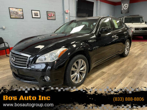 2013 Infiniti M37 for sale at Bos Auto Inc in Quincy MA