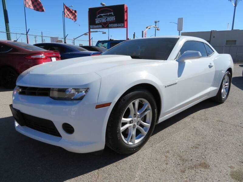 2014 Chevrolet Camaro for sale at Moving Rides in El Paso TX