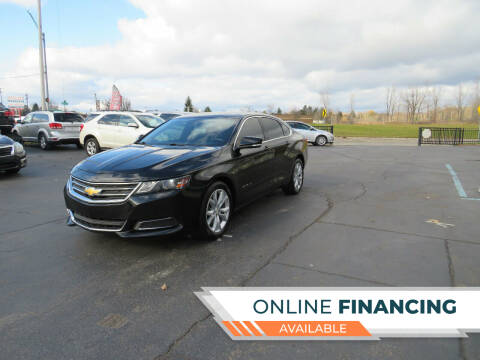 2017 Chevrolet Impala for sale at A to Z Auto Financing in Waterford MI