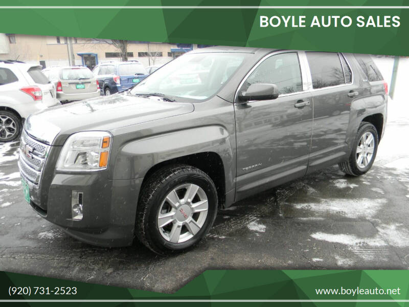 2013 GMC Terrain for sale at Boyle Auto Sales in Appleton WI
