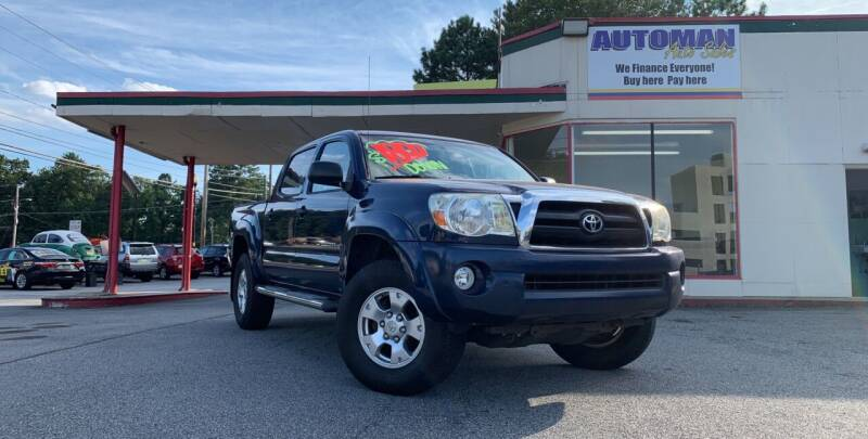 2007 Toyota Tacoma for sale at Automan Auto Sales, LLC in Norcross GA