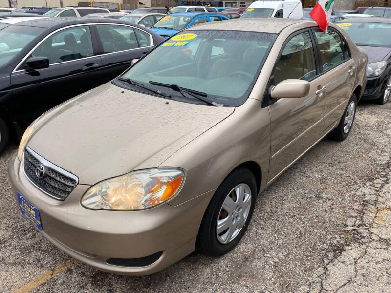 2007 Toyota Corolla for sale at 5 Stars Auto Service and Sales in Chicago IL