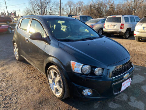 2014 Chevrolet Sonic for sale at Truck City Inc in Des Moines IA