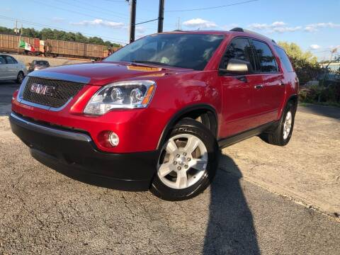 2012 GMC Acadia for sale at Atlas Auto Sales in Smyrna GA