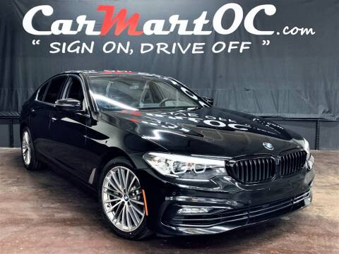 2018 BMW 5 Series for sale at CarMart OC in Costa Mesa, Orange County CA