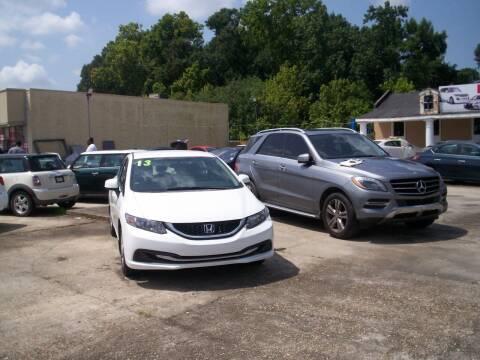 2013 Honda Civic for sale at Louisiana Imports in Baton Rouge LA