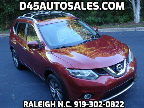 2015 Nissan Rogue for sale at D45 Auto Brokers in Raleigh NC