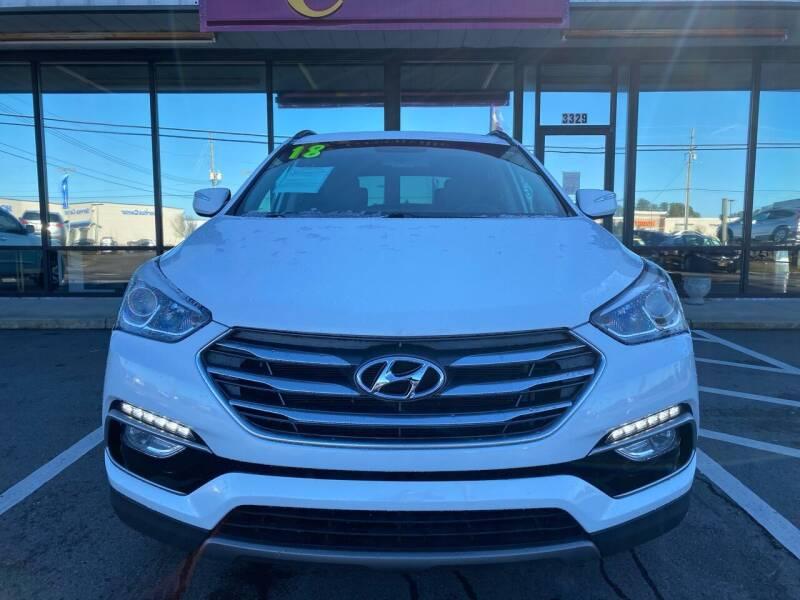 2018 Hyundai Santa Fe Sport for sale at Kinston Auto Mart in Kinston NC