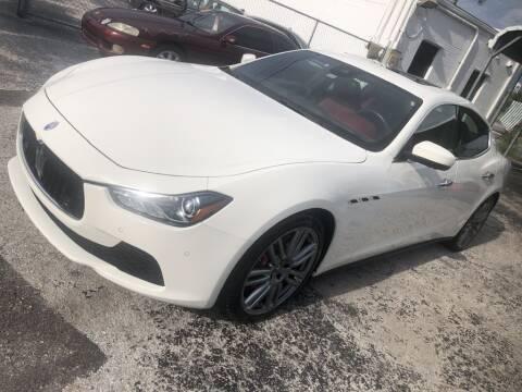 2017 Maserati Ghibli for sale at WHEEL UNIK AUTOMOTIVE & ACCESSORIES INC in Orlando FL