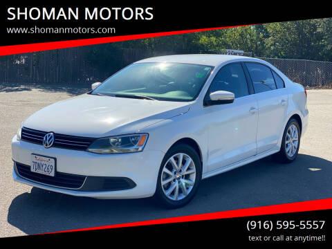 2014 Volkswagen Jetta for sale at SHOMAN MOTORS in Davis CA
