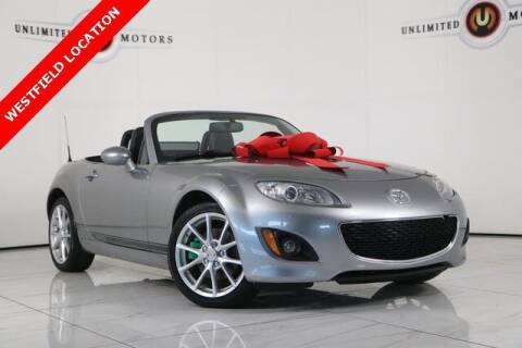 2010 Mazda MX-5 Miata for sale at INDY'S UNLIMITED MOTORS - UNLIMITED MOTORS in Westfield IN