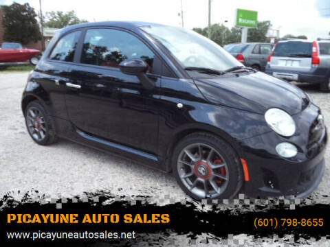 2013 FIAT 500 for sale at PICAYUNE AUTO SALES in Picayune MS
