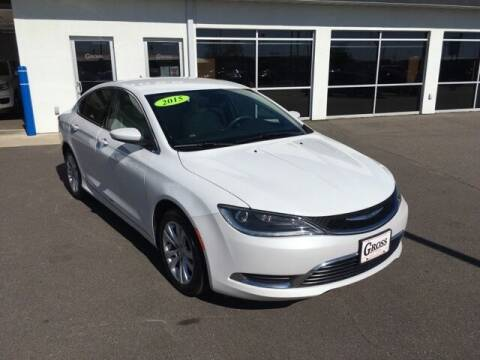 2015 Chrysler 200 for sale at Gross Motors of Marshfield in Marshfield WI