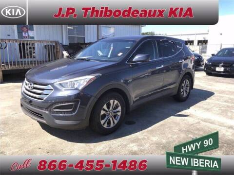 2016 Hyundai Santa Fe Sport for sale at J P Thibodeaux Used Cars in New Iberia LA