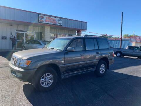 2000 Lexus LX 470 for sale at 4X4 Rides in Hagerstown MD