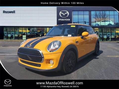 2016 MINI Hardtop 2 Door for sale at Mazda Of Roswell in Roswell GA