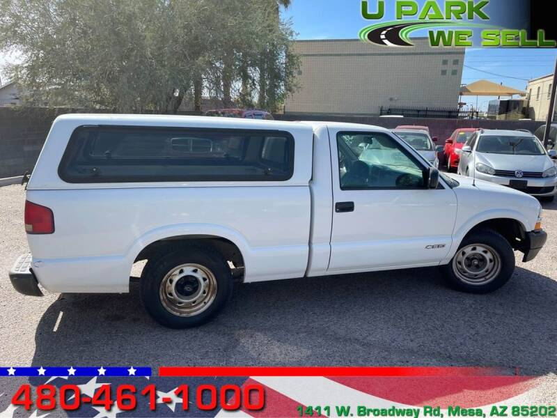 2001 Chevrolet S-10 for sale at UPARK WE SELL AZ in Mesa AZ