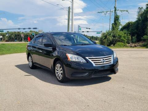 2013 Nissan Sentra for sale at FLORIDA USED CARS INC in Fort Myers FL