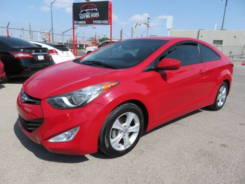 2013 Hyundai Elantra Coupe for sale at Moving Rides in El Paso TX